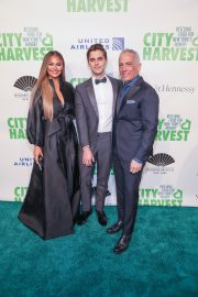 Chrissy Teigen at 36th Annual City Harvest Gala in NYC 2019/04/30 11