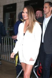 Chrissy Teigen Shows Off her legs out in New York 2019/05/13 10