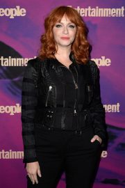 Christina Hendricks Arrives Entertainment Weekly & PEOPLE New York Upfronts Party 2019/05/13 1