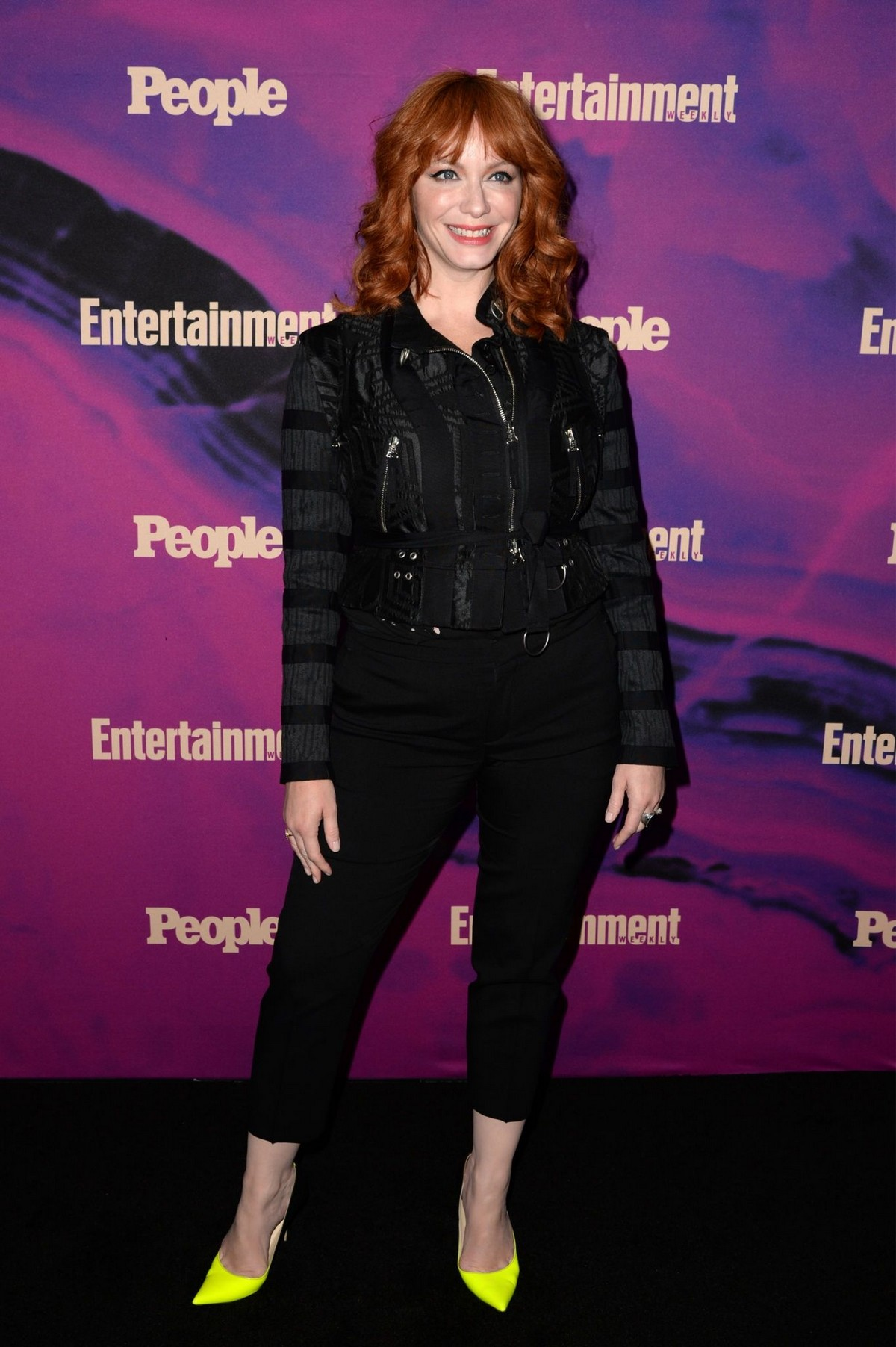 Christina Hendricks Arrives Entertainment Weekly & PEOPLE New York Upfronts Party 2019/05/13 2