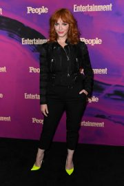 Christina Hendricks Arrives Entertainment Weekly & PEOPLE New York Upfronts Party 2019/05/13 5