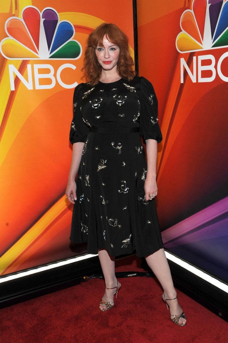 Christina Hendricks at NBCUniversal Upfront Presentation at Four Seasons Hotel 2019/05/13 2