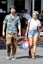 Christina Milian with Her Partner M. Pokora Shops at Fred Segal in West Hollywood 2019/05/11 4