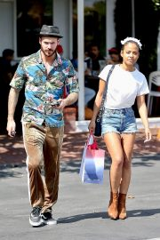 Christina Milian with Her Partner M. Pokora Shops at Fred Segal in West Hollywood 2019/05/11 6