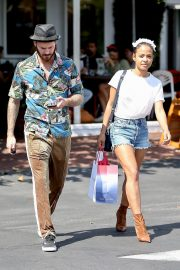 Christina Milian with Her Partner M. Pokora Shops at Fred Segal in West Hollywood 2019/05/11 7