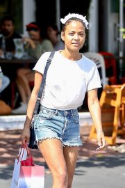 Christina Milian with Her Partner M. Pokora Shops at Fred Segal in West Hollywood 2019/05/11 8