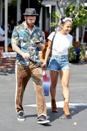 Christina Milian with Her Partner M. Pokora Shops at Fred Segal in West Hollywood 2019/05/11 10