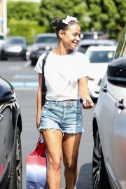 Christina Milian with Her Partner M. Pokora Shops at Fred Segal in West Hollywood 2019/05/11 12