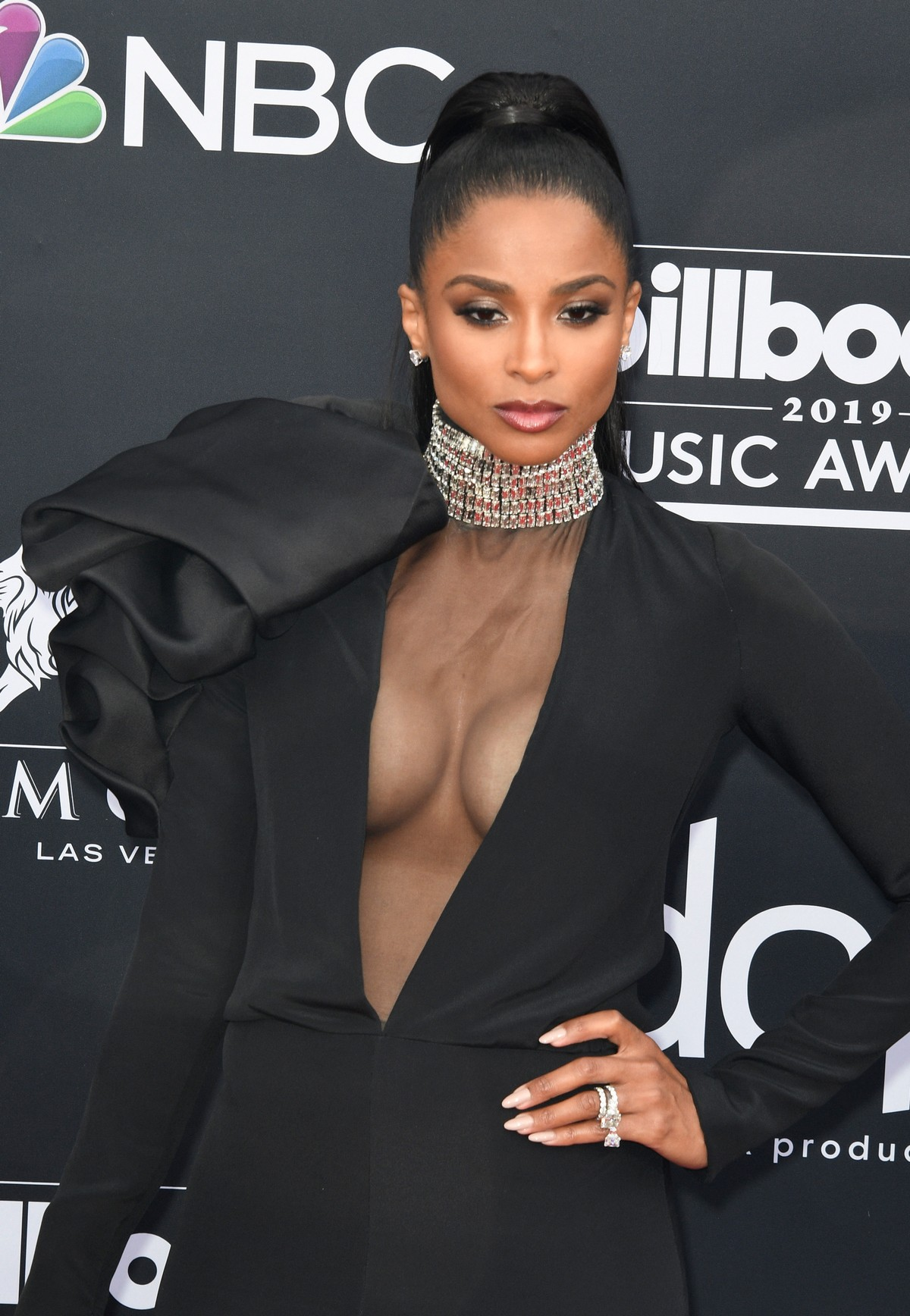 Ciara at 2019 Billboard Music Awards at MGM in Las Vegas 2019/05/01 12