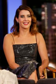 Cobie Smulders and Zendaya Coleman at Jimmy Kimmel Live 2019/05/09 2