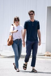 Dakota Johnson and Blake Lee Out in Los Angeles 2019/05/01 2