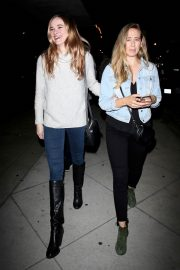 Danielle Panabaker with friends at Craig's Restaurant in West Hollywood 2019/05/10 5