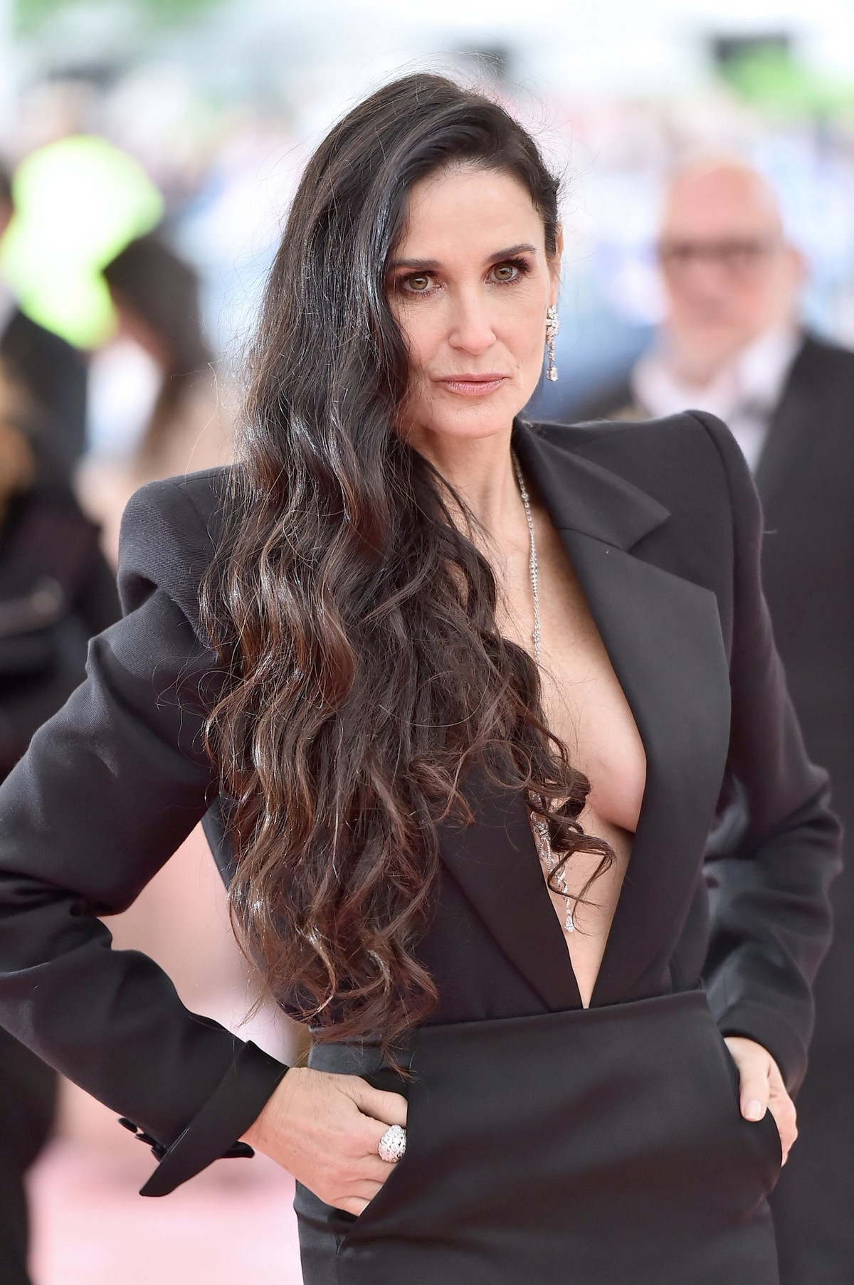 Demi Moore at The 2019 Met Gala Celebrating Camp: Notes on Fashion New York 2019/05/06 1