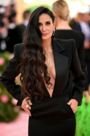 Demi Moore at The 2019 Met Gala Celebrating Camp: Notes on Fashion New York 2019/05/06 2