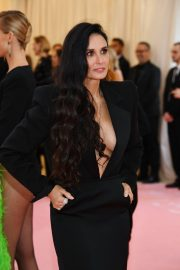 Demi Moore at The 2019 Met Gala Celebrating Camp: Notes on Fashion New York 2019/05/06 4