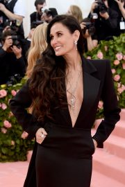 Demi Moore at The 2019 Met Gala Celebrating Camp: Notes on Fashion New York 2019/05/06 5