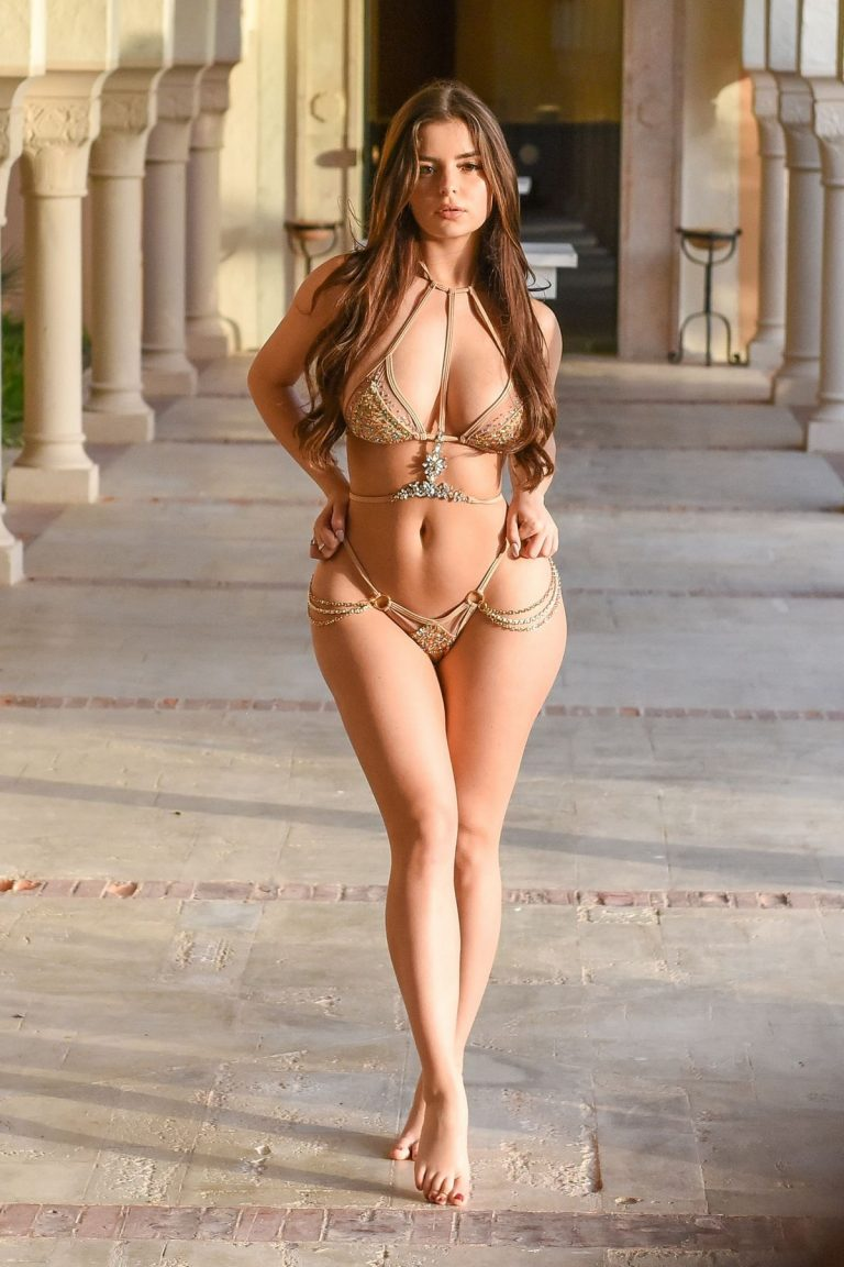 Demi Rose in Bikini Shoot in Tunisia April 2019 4
