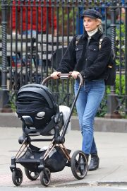 Diane Kruger and Her Mom Out in New York 2019/05/01 2
