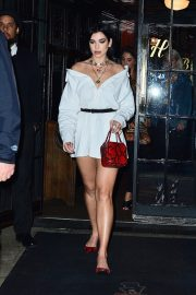 Dua Lipa Out at The Bowery Hotel in New York 2019/04/30 2