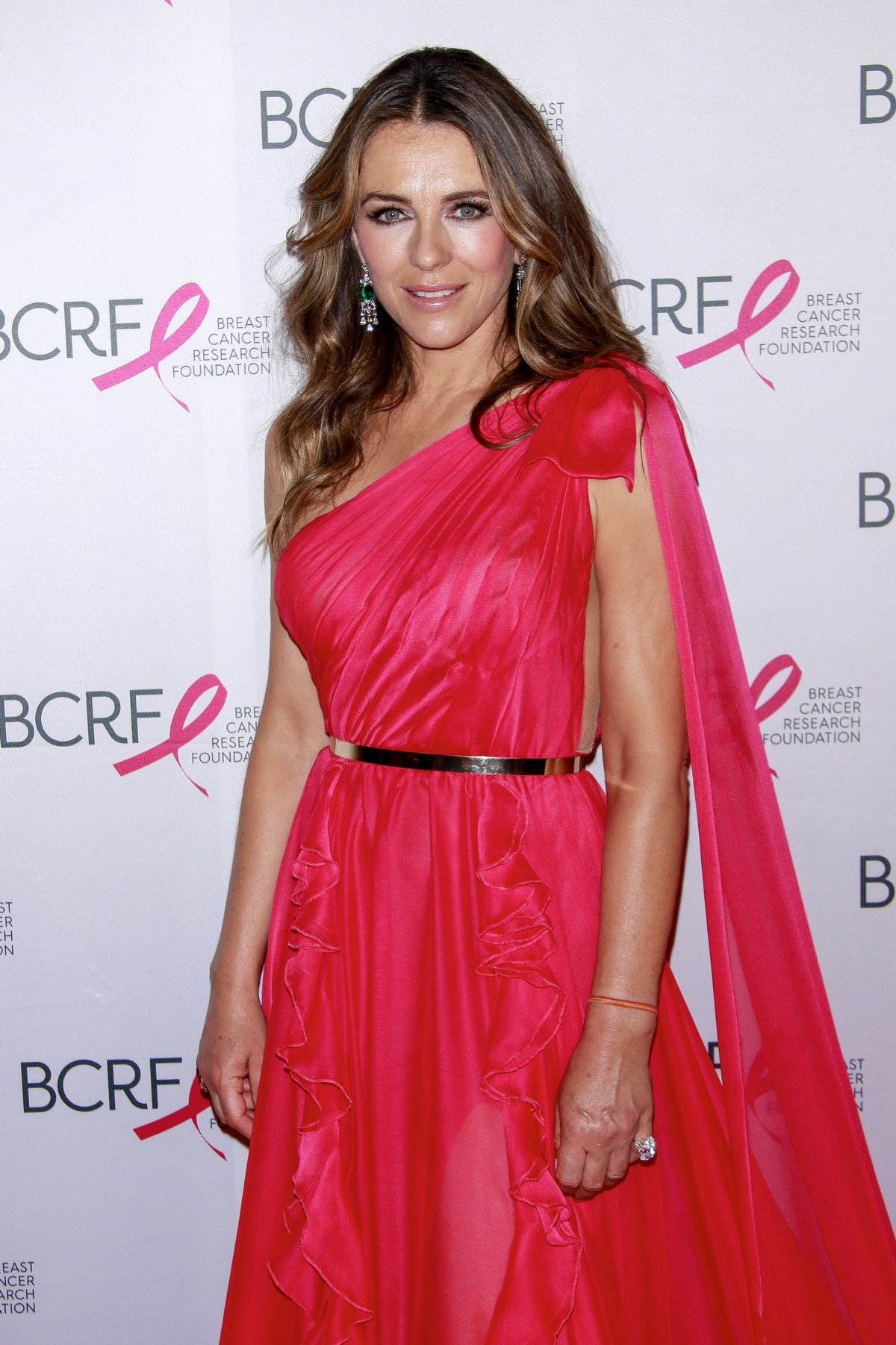 Elizabeth Hurley at Breast Cancer Research Foundation Hot Pink Party in New York 2019/05/15 2