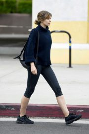 Elizabeth Olsen in Tights After a Workout in Los Angeles 2019/05/10 2
