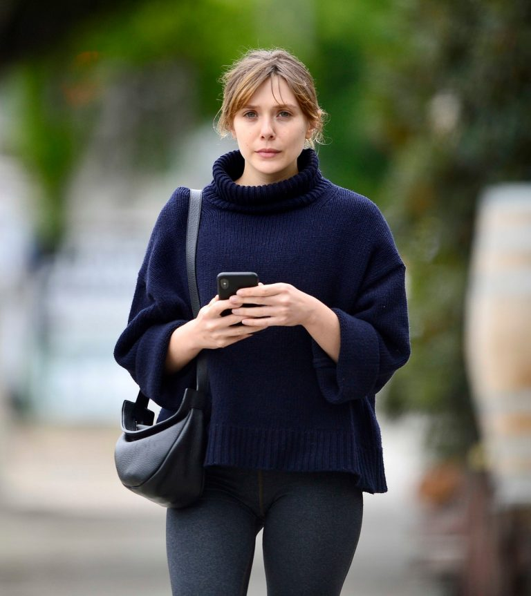 Elizabeth Olsen in Tights After a Workout in Los Angeles 2019/05/10 4