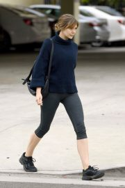 Elizabeth Olsen in Tights After a Workout in Los Angeles 2019/05/10 7