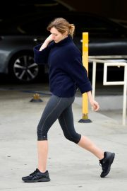 Elizabeth Olsen in Tights After a Workout in Los Angeles 2019/05/10 11