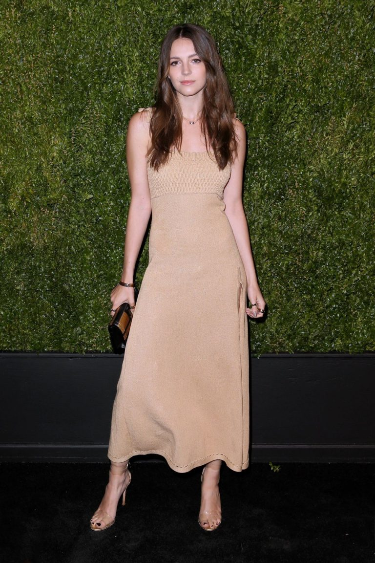 Ella Hunt at 14th Annual Tribeca Film Festival Artists Dinner Hosted by Chanel 2019/04/29 6