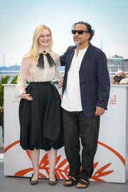 Elle Fanning and Alejandro Gonzalez Inarritu at the 72nd annual Cannes Film Festival 2019/05/14 2