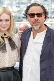 Elle Fanning and Alejandro Gonzalez Inarritu at the 72nd annual Cannes Film Festival 2019/05/14 9
