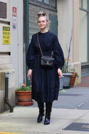 Elle Fanning and Max Minghella Night Out in New York 2019/05/04 6