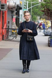 Elle Fanning and Max Minghella Night Out in New York 2019/05/04 12