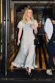 Elle Fanning and Max Minghella Out in New York 2019/05/02 2