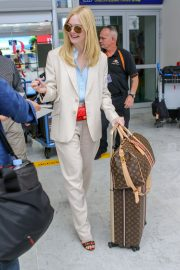 Elle Fanning Arrives at Nice Airport of the 72nd Annual Cannes Film Festival 2019/05/12 2