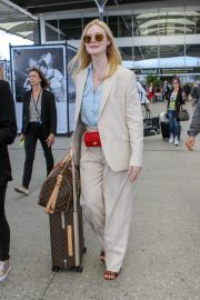 Elle Fanning Arrives at Nice Airport of the 72nd Annual Cannes Film Festival 2019/05/12 6