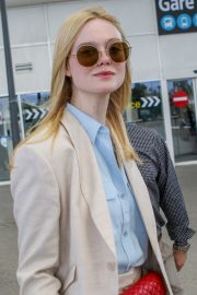 Elle Fanning Arrives at Nice Airport of the 72nd Annual Cannes Film Festival 2019/05/12 12