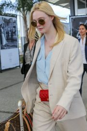 Elle Fanning Arrives at Nice Airport of the 72nd Annual Cannes Film Festival 2019/05/12 13