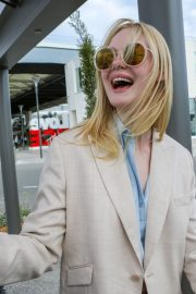 Elle Fanning Arrives at Nice Airport of the 72nd Annual Cannes Film Festival 2019/05/12 18