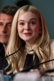 Elle Fanning at Jury Press Conference in Cannes Film Festival 2019/05/14 2