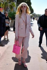 Elle Fanning at The 72nd Cannes Film Festival in Cannes 2019/05/15 2