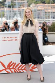 Elle Fanning joins Jury Photocall at 72nd annual Cannes Film Festival in Cannes 2019/05/14 4