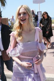 Elle Fanning Leaves The Martinez Hotel During the 72nd annual Cannes Film Festival 2019/05/14 3