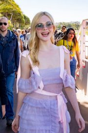 Elle Fanning Leaves The Martinez Hotel During the 72nd annual Cannes Film Festival 2019/05/14 7