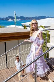 Elle Fanning Leaves The Martinez Hotel During the 72nd annual Cannes Film Festival 2019/05/14 9