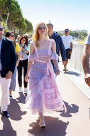 Elle Fanning Leaves The Martinez Hotel During the 72nd annual Cannes Film Festival 2019/05/14 14