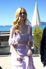 Elle Fanning Leaves The Martinez Hotel During the 72nd annual Cannes Film Festival 2019/05/14 19