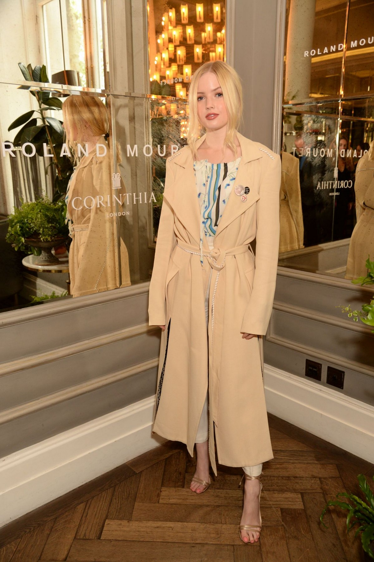 """Ellie Bamber at """"Women In Film"""" Luncheon in London 2019/05/01 1"""