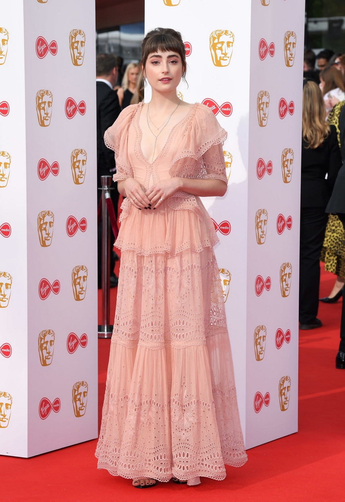 Ellise Chappell at 2019 BAFTA Awards at Royal Festival Hall in London 2019/05/12 9
