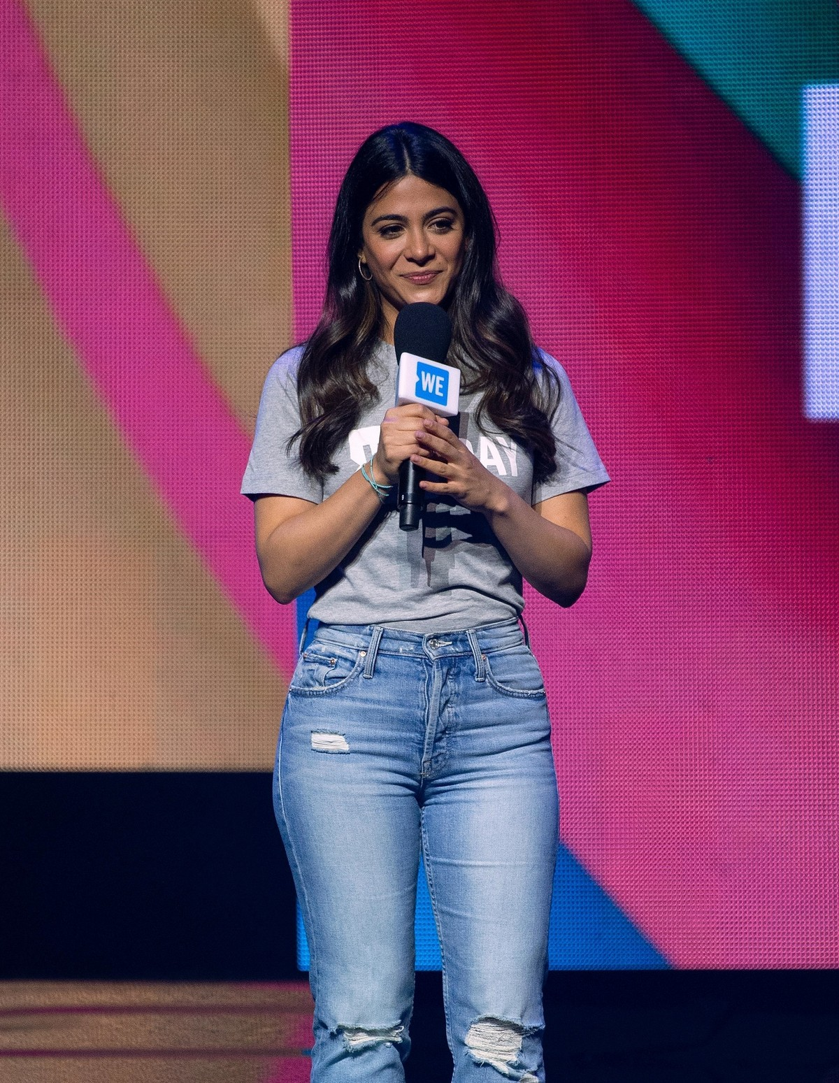 Emeraude Toubia at WE Day Chicago at the Forum 2019/05/08 1